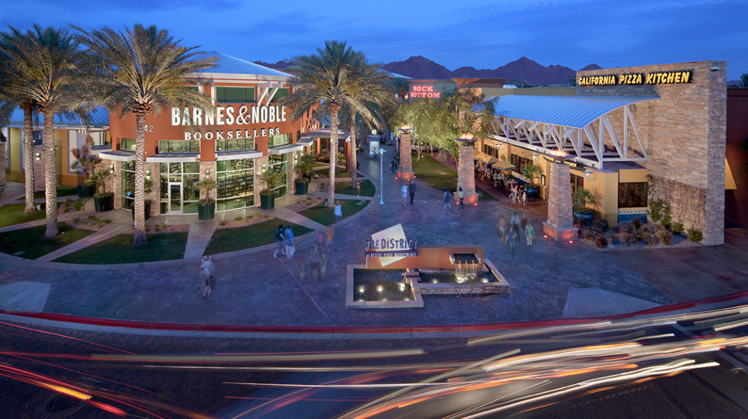 Desert Ridge Marketplace Vestar A Shopping Center Company
